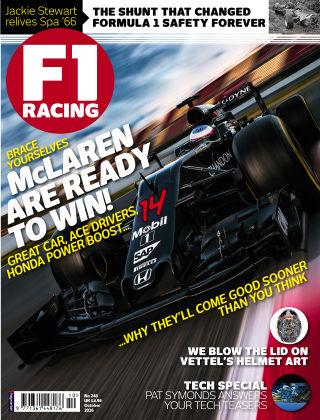 F1 Racing October 2016