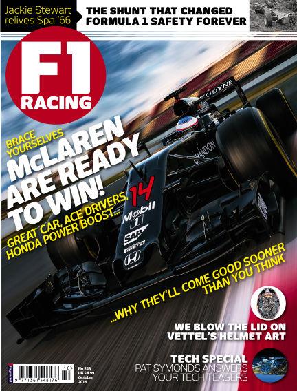 F1 Racing September 22, 2016 00:00