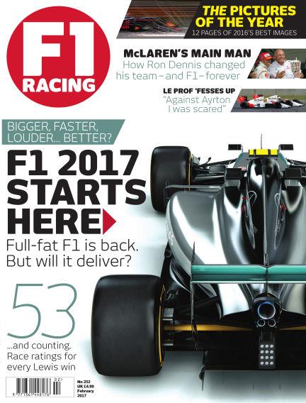 F1 Racing January 19, 2017 00:00