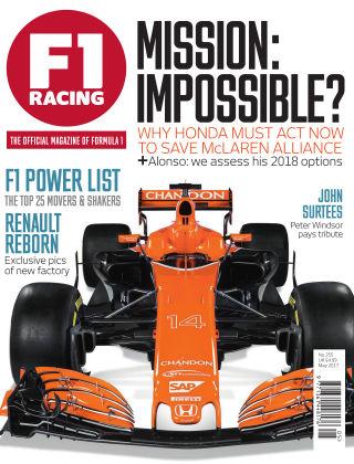 F1 Racing May 2017