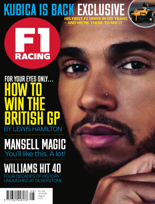 F1 Racing August 2017