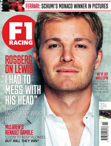 F1 Racing October 19, 2017 00:00