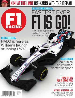 F1 Racing March 2018