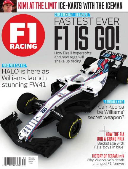 F1 Racing February 16, 2018 00:00