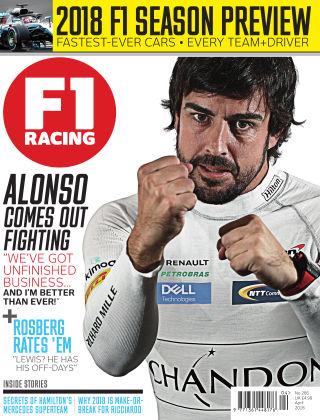 F1 Racing April 2018