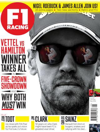 F1 Racing May 2018
