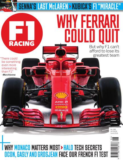 F1 Racing May 11, 2018 00:00