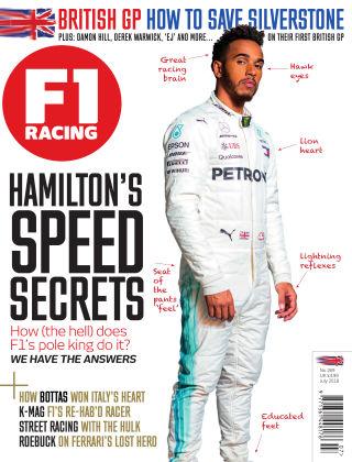 F1 Racing July 2018