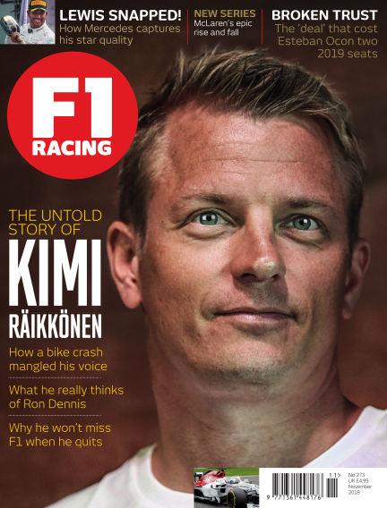 F1 Racing October 19, 2018 00:00