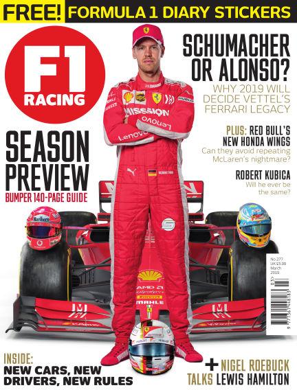 F1 Racing February 28, 2019 00:00