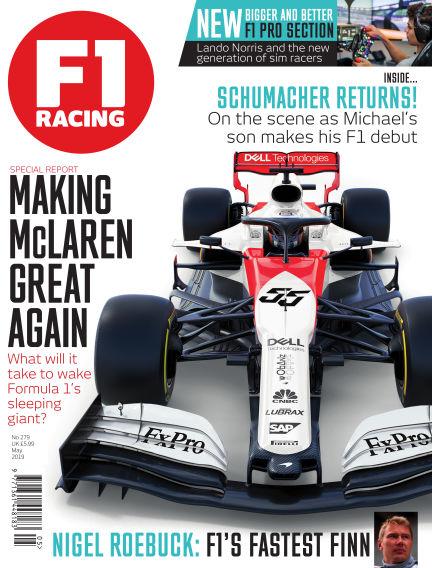 F1 Racing May 02, 2019 00:00