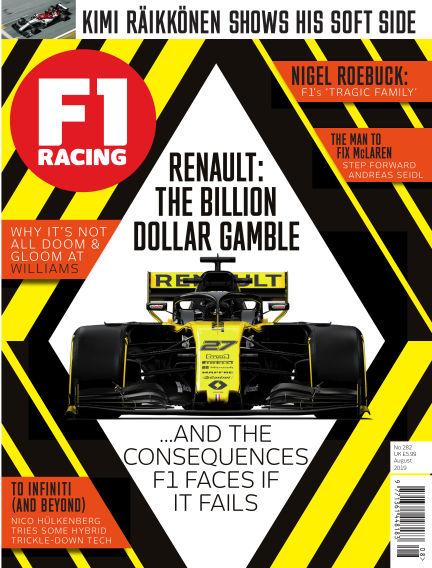 F1 Racing August 01, 2019 00:00