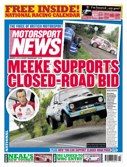 Motorsport News March 05, 2014 00:00