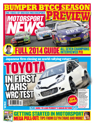 Motorsport News 26th March 2014