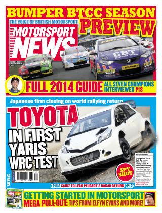 Motorsport News 26th March 2014