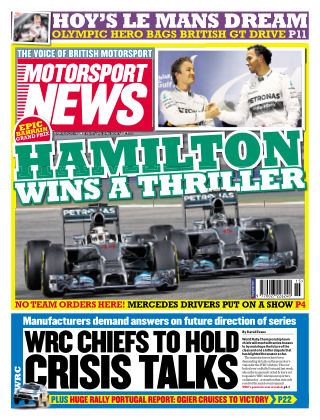 Motorsport News 9th April 2014