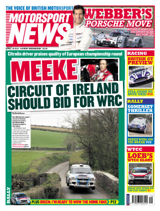 Motorsport News 16th April 2014