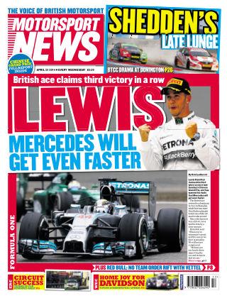 Motorsport News 23rd April 2014