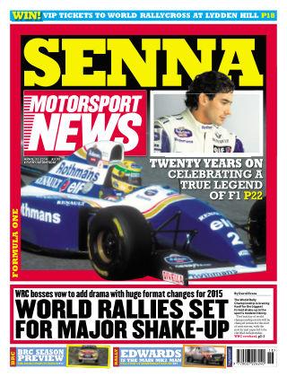 Motorsport News 30th April 2014