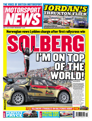 Motorsport News 7th May 2014