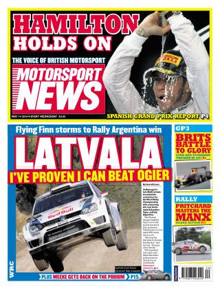 Motorsport News 14th May 2014