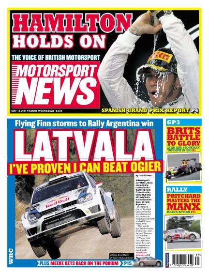 Motorsport News May 14, 2014 00:00