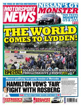 Motorsport News 28th May 2014