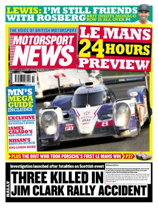 Motorsport News 2nd June 2014