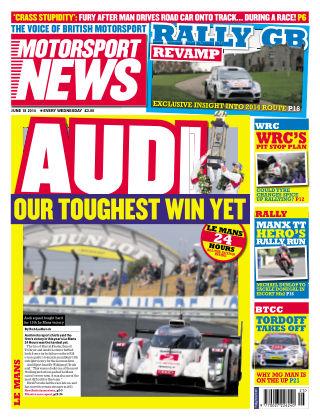 Motorsport News 18th June 2014