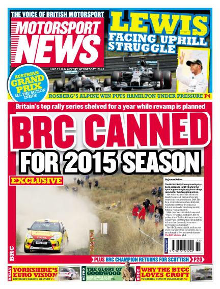 Motorsport News June 25, 2014 00:00