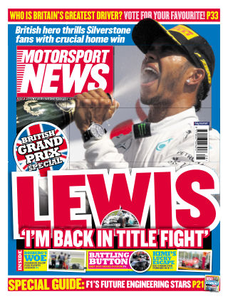Motorsport News 9th July 2014