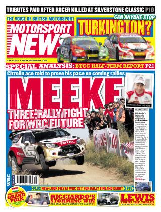 Motorsport News 30th July 2014