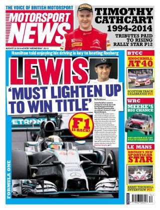 Motorsport News 20th August 2014