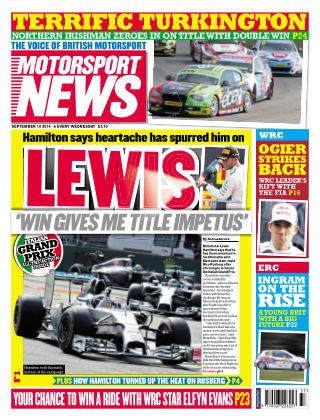 Motorsport News 10th September 2014