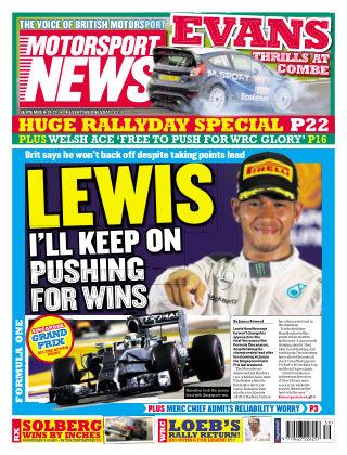 Motorsport News 24th September 2014