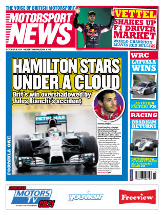 Motorsport News 8th October 2014