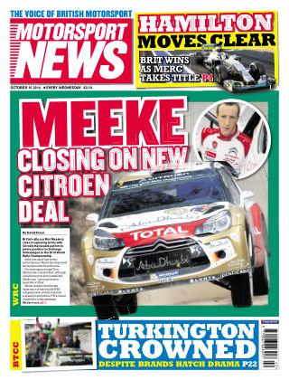 Motorsport News 15th October 2014