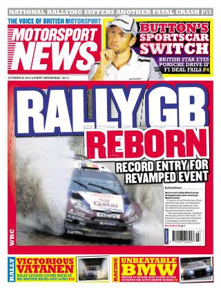 Motorsport News 22nd October 2014