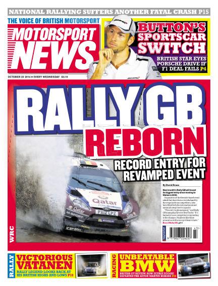 Motorsport News October 22, 2014 00:00