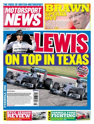 Motorsport News 5th November 2014