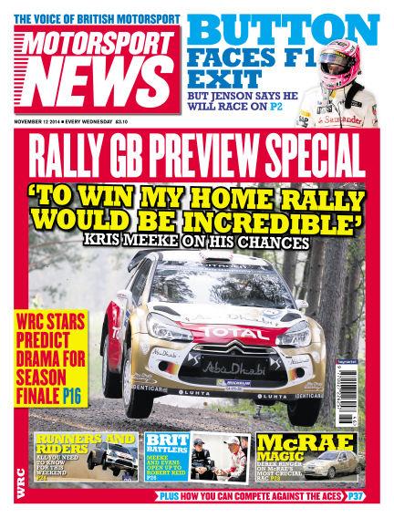 Motorsport News November 12, 2014 00:00