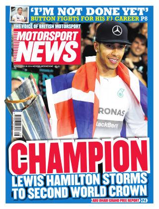 Motorsport News 26th December 2014