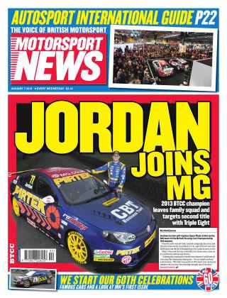 Motorsport News 7th January 2015