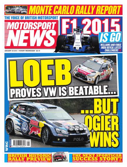 Motorsport News January 28, 2015 00:00