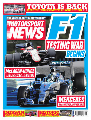 Motorsport News 4th February 2015