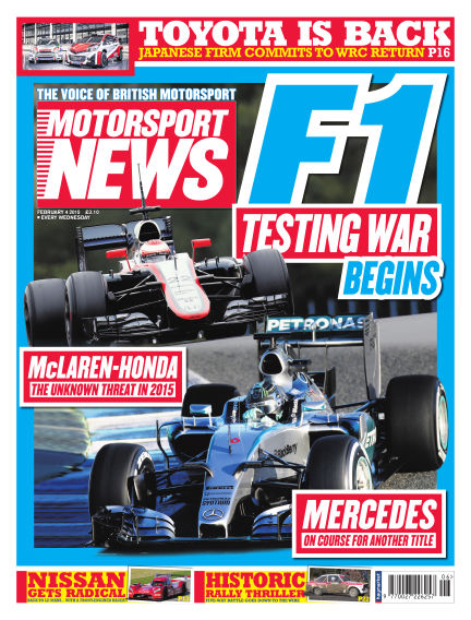 Motorsport News February 04, 2015 00:00
