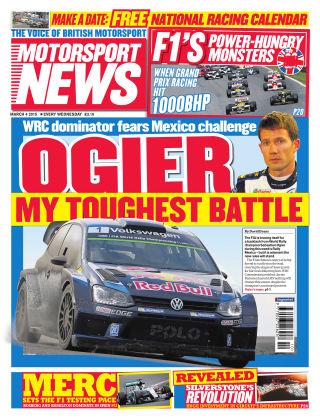 Motorsport News 4th March 2015