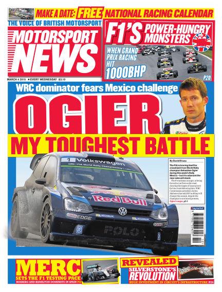 Motorsport News March 04, 2015 00:00