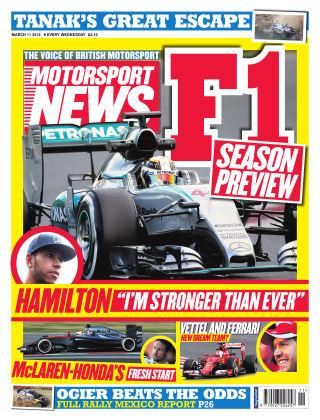 Motorsport News 11th March 2015
