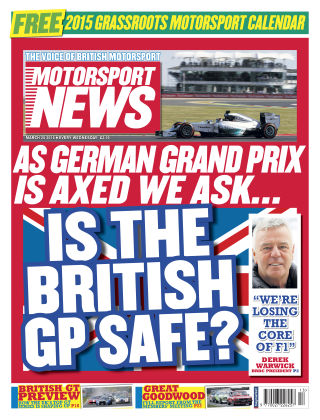 Motorsport News 25th March 2014